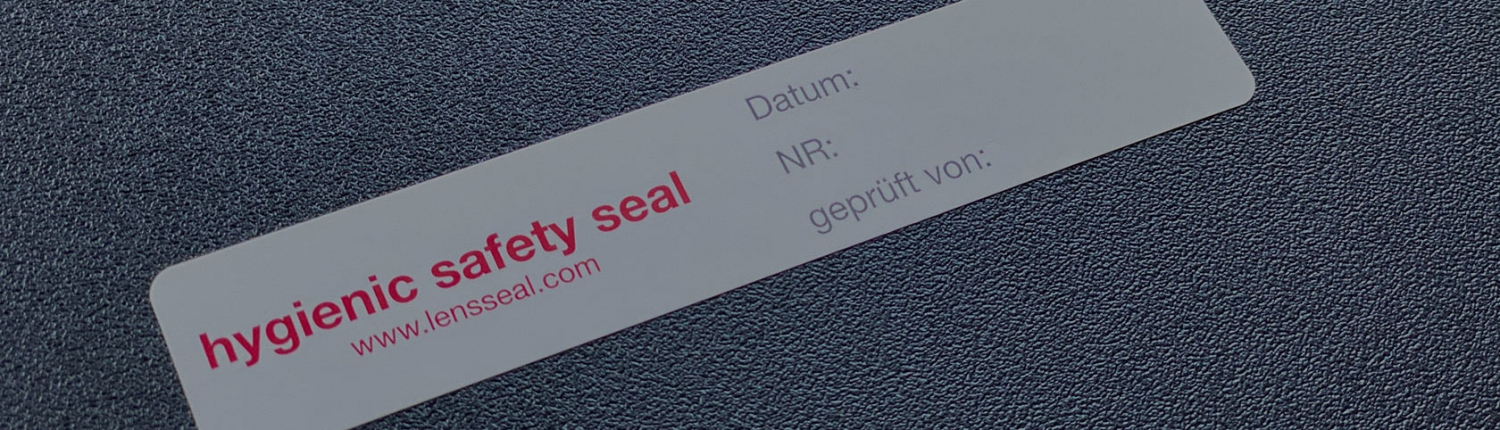 The LENSSEAL® hygienic safety seal